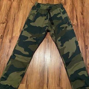 Adidas camouflage sweat pants